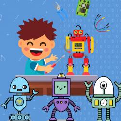 Робототехника для детей 2,5 - 13 лет