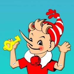 Программа детского праздника «Золотой ключик»