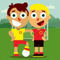 Мини-футбол для детей 0-3 лет