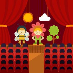 3 - 7 лет Театр